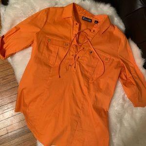 Small NY&C blouse. Never worn.